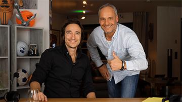 Nicolai Friedrich (li.) und Harald Dobmayer