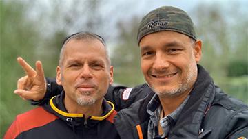 Mike Diehl und Harald Dobmayer
